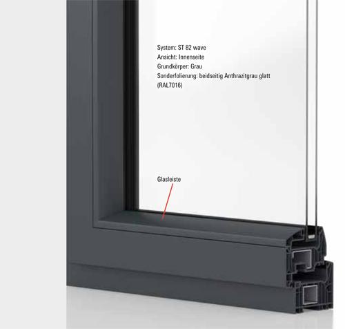 hochwertige Fenster aus Kunststoff